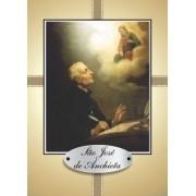 Santinho com Oração São José de Anchieta
