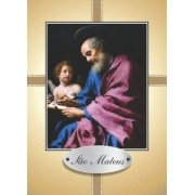 Santinho com Oração São Mateus