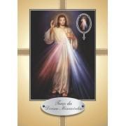 Santinho com Oração Terço da Divina Misericórdia