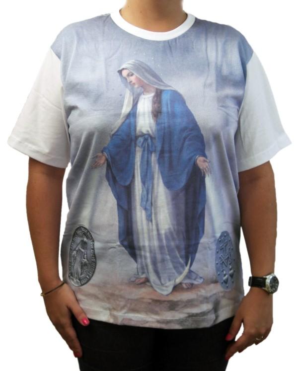 Camiseta Nossa Senhora das Graças marca Ágape