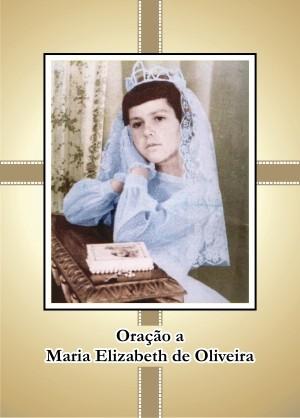 Santinho com Oração à Maria Elizabeth