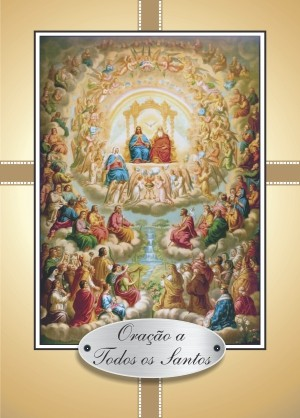 Santinho com Oração a Todos os Santos
