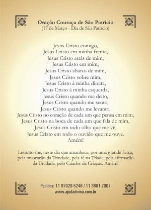 Oração Couraça de São Patrício