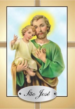 Santinho com Oração de São José