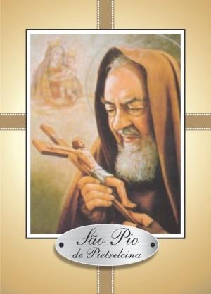 Santinho com Oração de São Pio