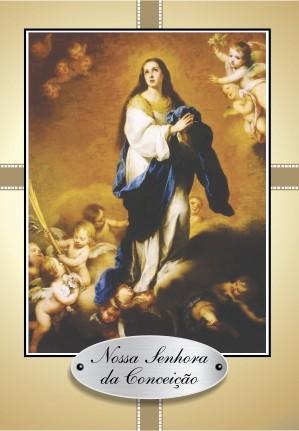 Santinho com Oração Nossa Senhora da Conceição