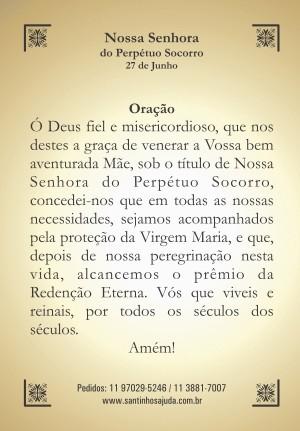 Oração Nossa Senhora do Perpétuo Socorro