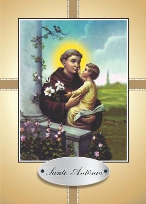 Santinho com Oração Santo Antônio