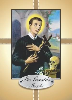 Santinho com Oração São Geraldo Magela