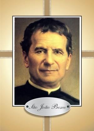 Santinho com Oração São João Bosco