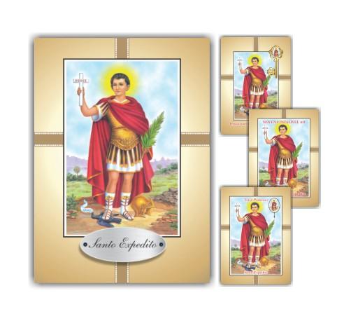 Santinho impresso com oração pacote com 10 milheiros