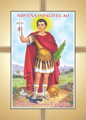 Santinhos com Oração Novena Santo Expedito