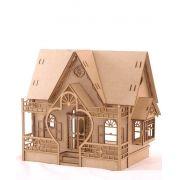 Casa de bonecas Escala Polly Modelo Megan Natural - Darama
