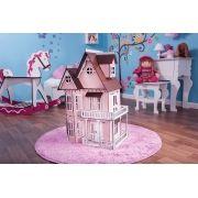 Casa de Bonecas Escala Polly Modelo Mirian Princesa - Darama