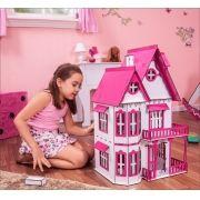 Casa de Bonecas Escala Polly Modelo Mirian Sonhos - Darama