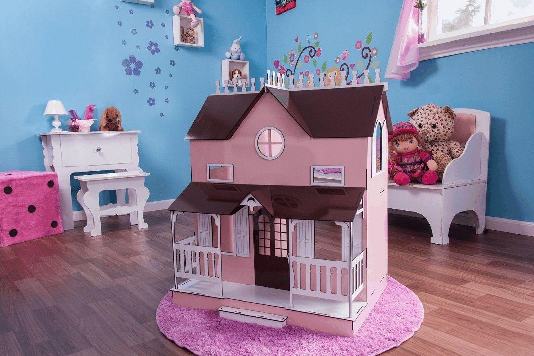 Casa de Bonecas Escala Barbie Modelo Lian Princesa - Darama