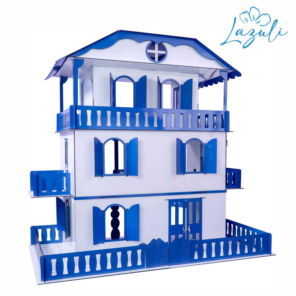Casa de Bonecas Escala Barbie Mod Suzan LAZULI - Darama