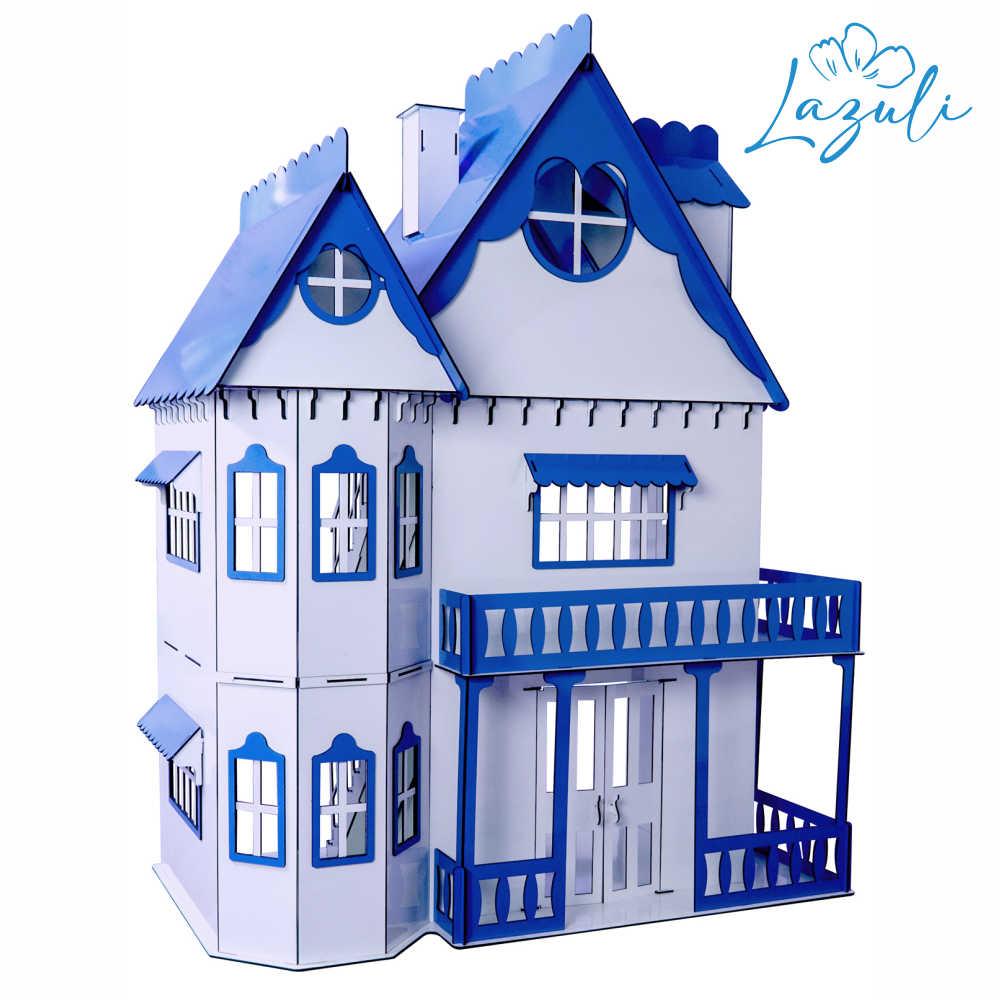 Casa de Bonecas Escala Barbie Modelo Emily LAZULI - Darama