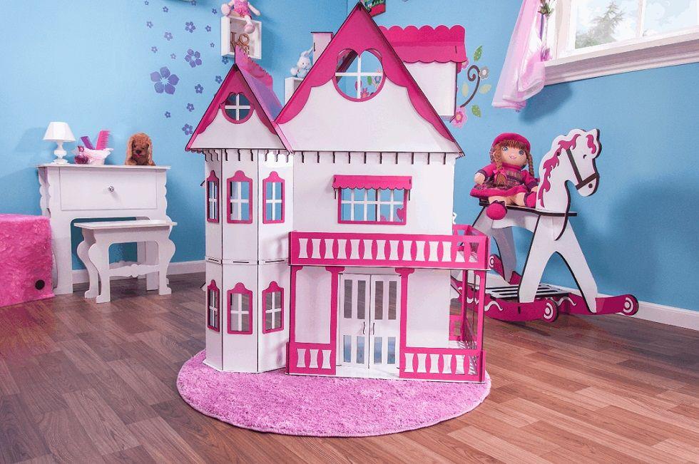 Casa de Bonecas Escala Barbie Modelo Emily Sonhos - Darama