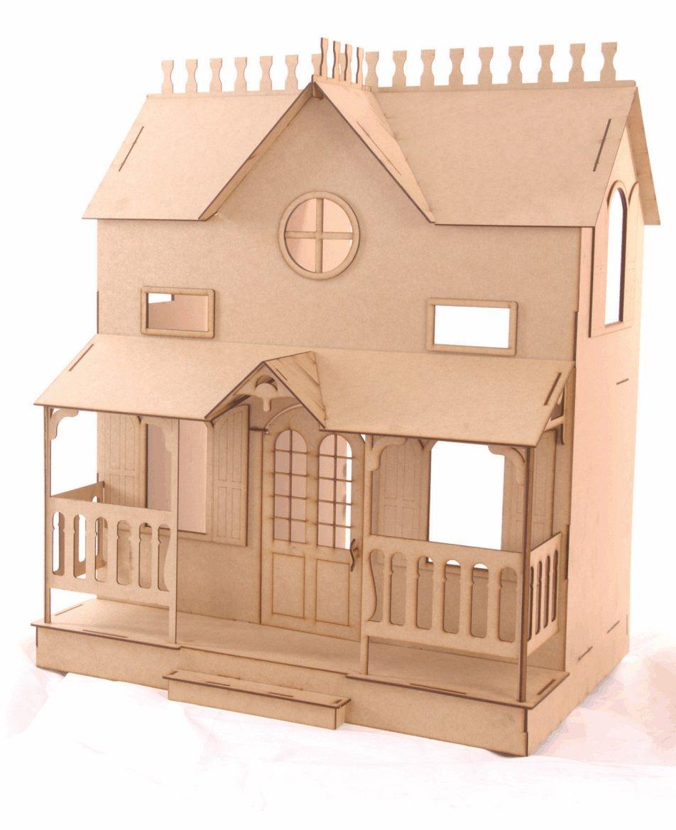 Casa de Bonecas Escala Barbie Modelo Lian Natural - Darama