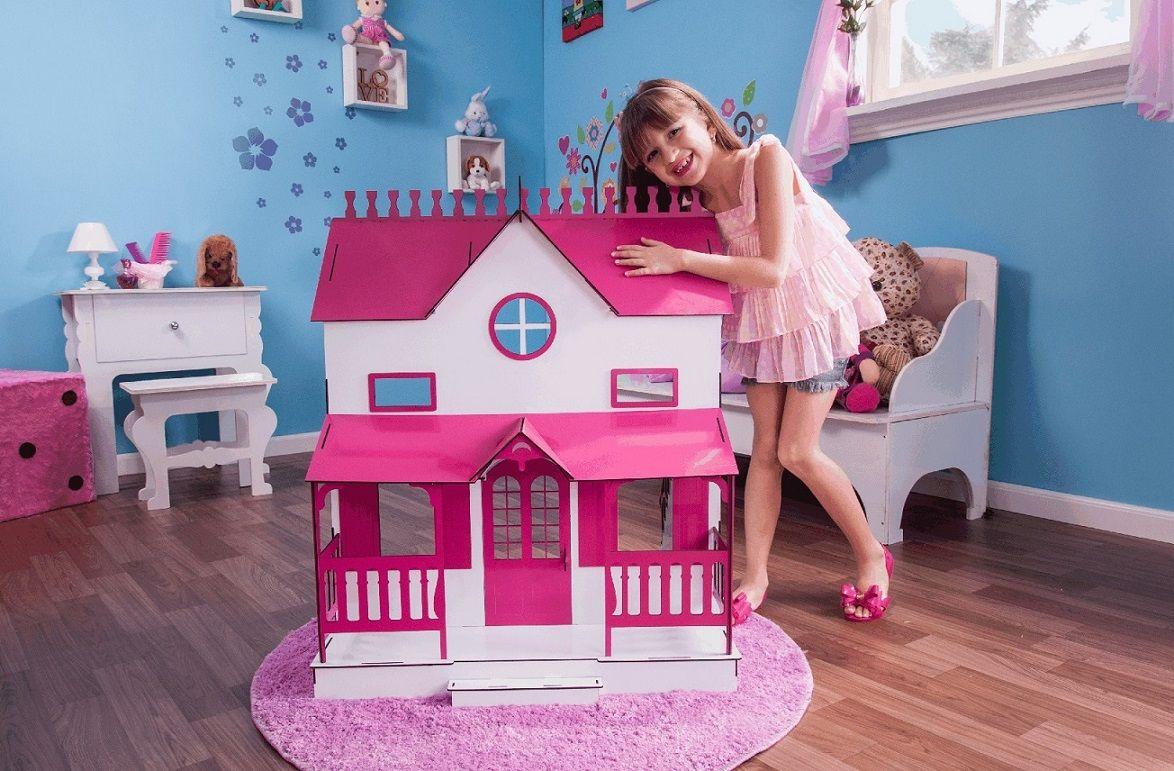 Casa de Bonecas Escala Barbie Modelo Lian Sonhos - Darama