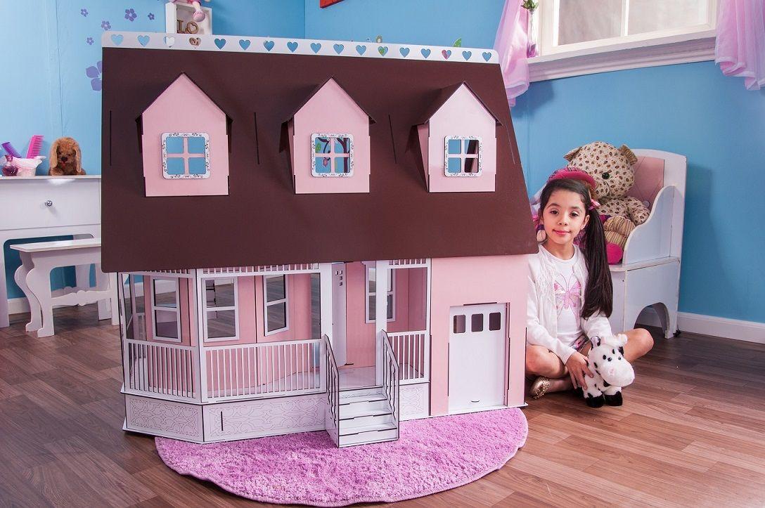 Casa de Bonecas Escala Barbie Modelo Victoria Princesa - Darama