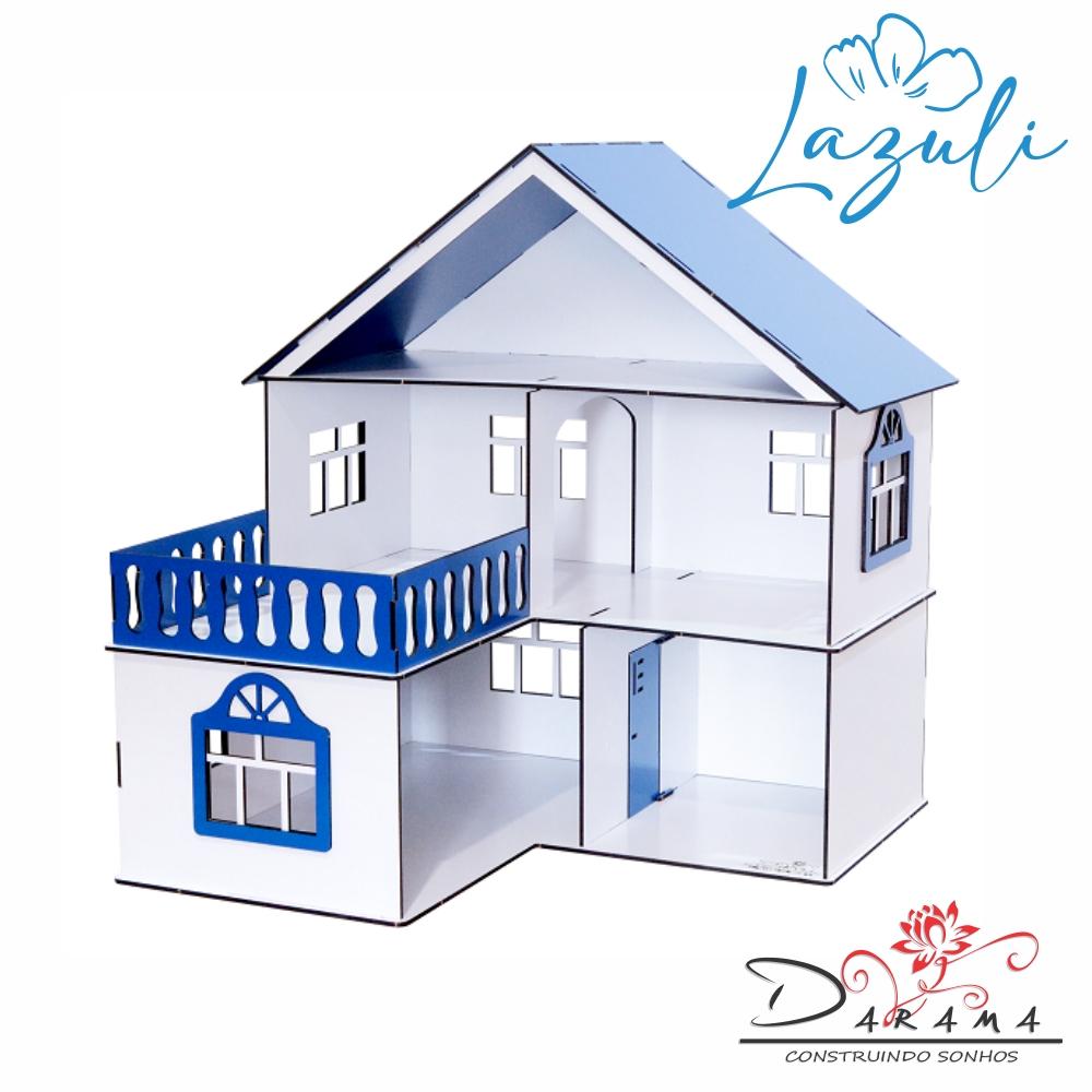Casa de Bonecas Escala Polly Modelo July LAZULI - Darama
