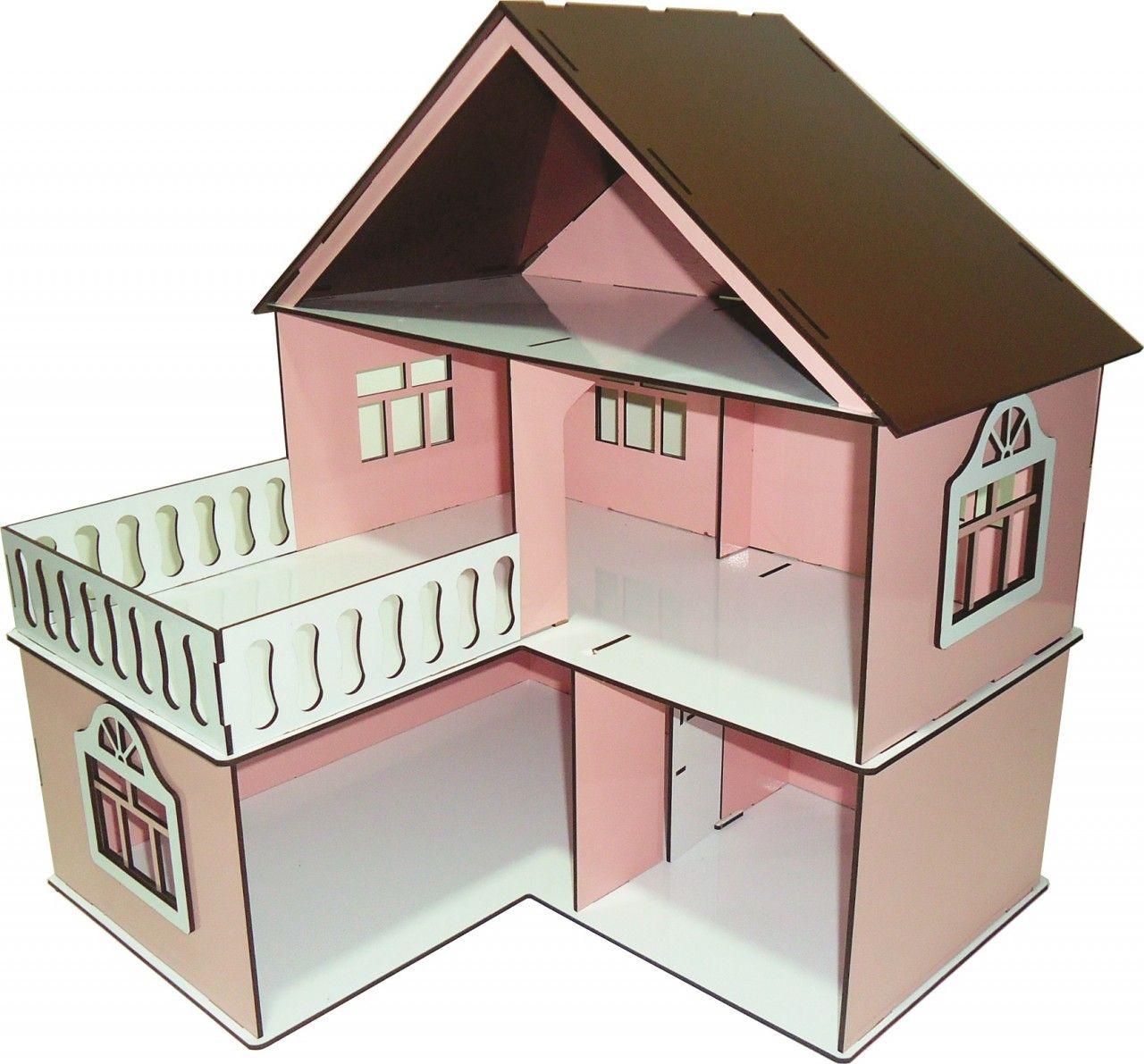 Casa de Bonecas Escala Polly Modelo July Princesa - Darama
