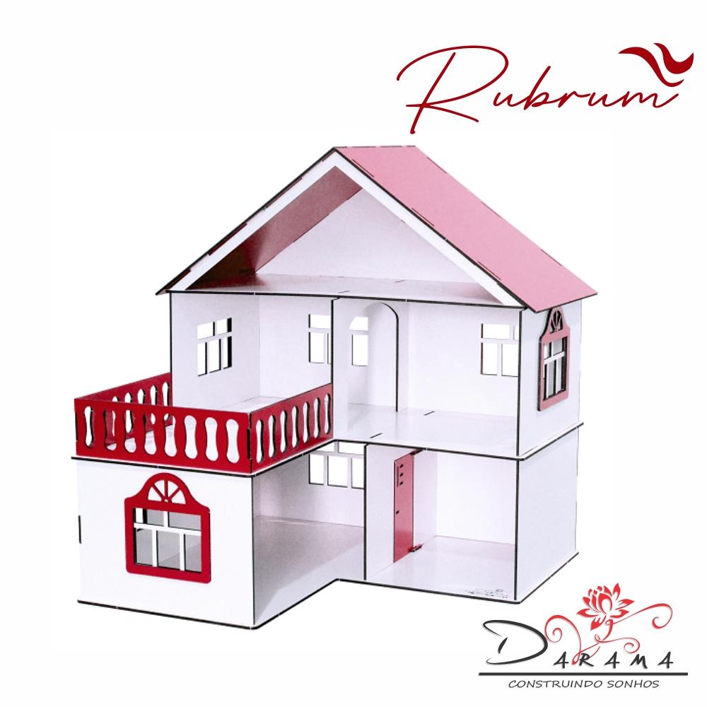 Casa de Bonecas Escala Polly Modelo July RUBRUM - Darama