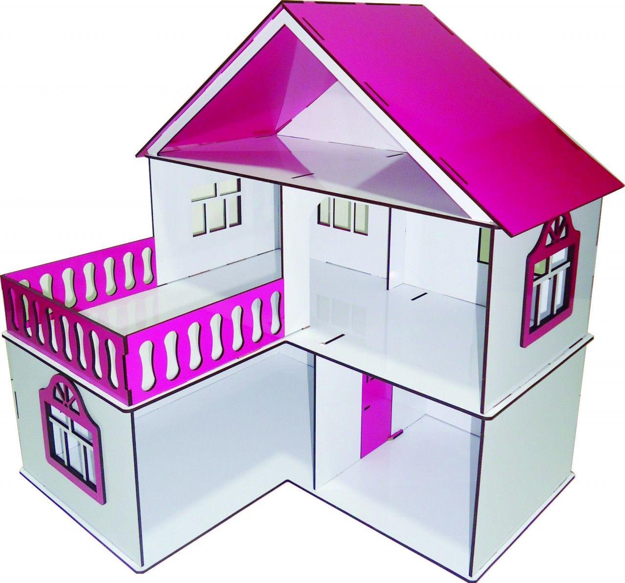 Casa de Bonecas Escala Polly Modelo July Sonhos - Darama