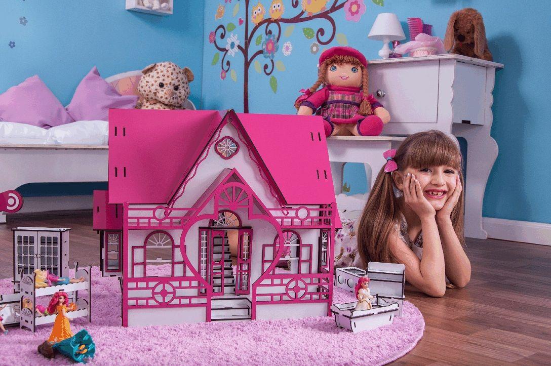 Casa de Bonecas Escala Polly Modelo Megan Sonhos - Darama
