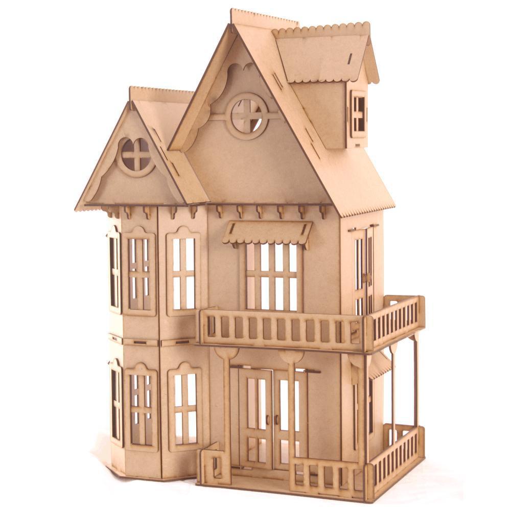 Casa de Bonecas Escala Polly Modelo Mirian Natural - Darama