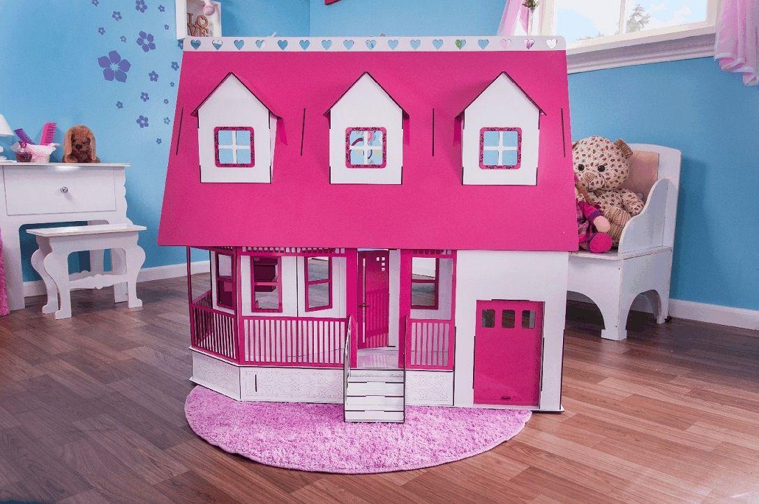Casa de Bonecas Escala Barbie Modelo Victoria Sonhos - Darama