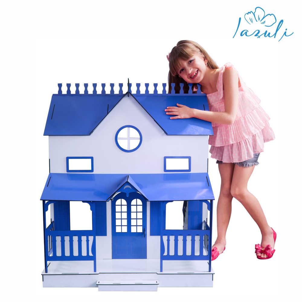 Kit Casa Bonecas Barbie E Móveis Lian Princesa L+B - Darama