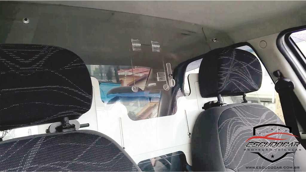 Placa Escudo Para Proteção Motorista Vírus Aplicativo Mobilidade Urbana Taxi app BR- Escudocar