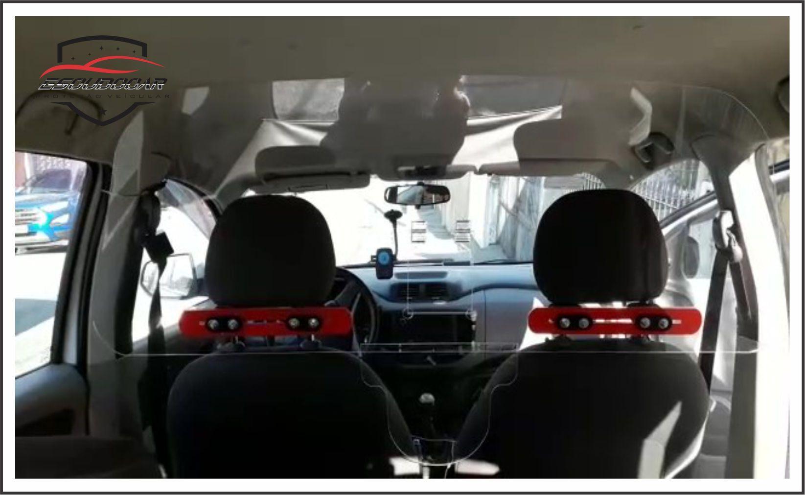 Placa Escudo para Proteção Veicular motorista aplicativo Uber Cabify 99 Taxi Escudocar