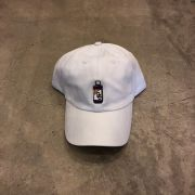 "BONÉ DAD HAT OVERCOME ""SYRUP"" BRANCO"