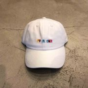 "BONÉ DAD HAT OVERCOME CO ""ASTRO"" BRANCO"