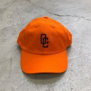 "Dad Hat Overcome ""Logo"" Laranja/Preto"
