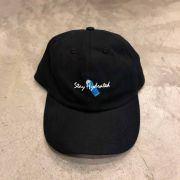 """Dad Hat Overcome """"Stay Hydrated"""" Preto"""