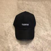 """Dad Hat Overcome """"Trapstar"""" Preto"""