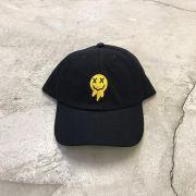 """Dad Hat Overcome """"Happy"""" Preto"""