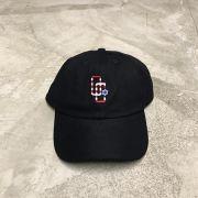 """Dad Hat Overcome """"Logo USA"""" Preto"""