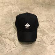 """Dad Hat Overcome """"Trap House"""" Preto"""