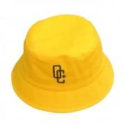 """Bucket Overcome """"Logo"""" Amarelo"""