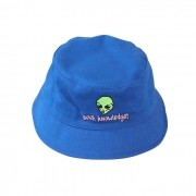 "Bucket Overcome ""Seek Knowledge"" Azul Marinho"