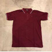 Camisa Polo Kappa Bordô