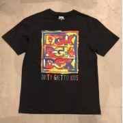 """Camiseta DGK """"Canvas"""" Preta"""