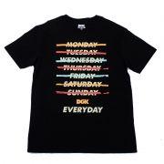 "Camiseta DGK ""Everyday"" Preta"