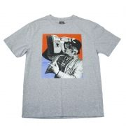 """Camiseta DGK """"Guetto Blaster"""" Cinza"""